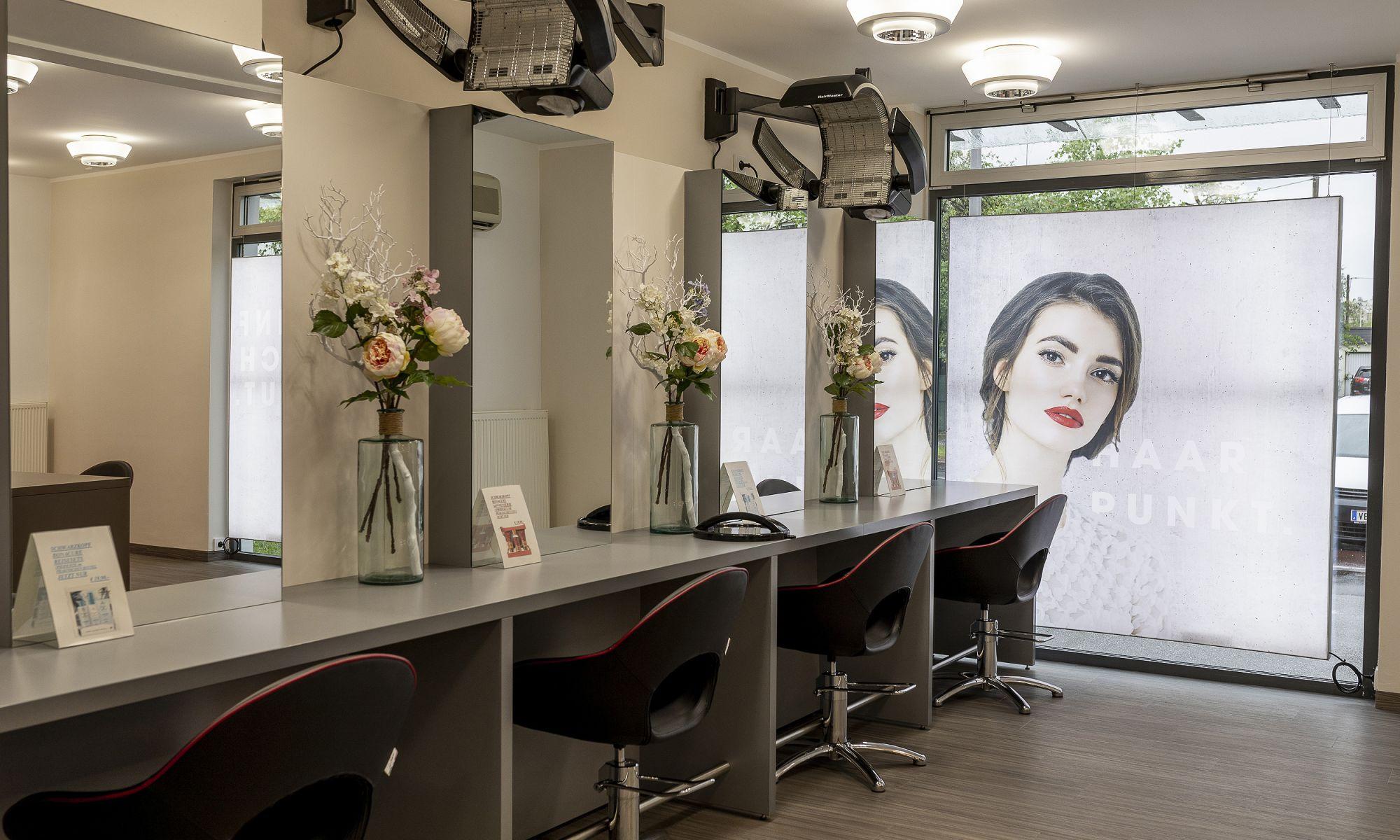 Friseur Haarpunkt - Salon in der Pulvermühlstraße